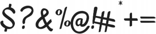 Mellifret otf (400) Font OTHER CHARS