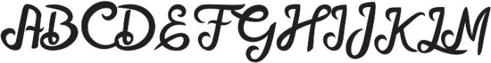 Mellifret otf (400) Font UPPERCASE