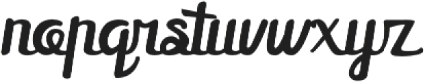 Mellifret otf (400) Font LOWERCASE