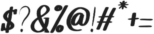 Melloner Happy Bold Italic otf (700) Font OTHER CHARS