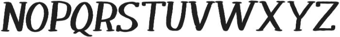 Melloner Happy Bold Italic otf (700) Font UPPERCASE