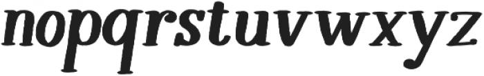 Melloner Happy Bold Italic otf (700) Font LOWERCASE