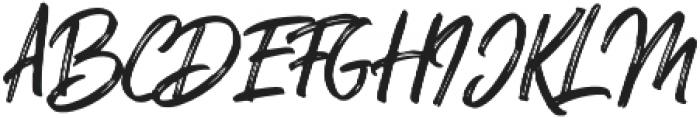 Mellow Rough otf (400) Font UPPERCASE