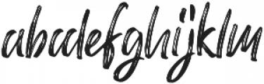 Mellow Rough otf (400) Font LOWERCASE