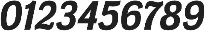Meloche Bold Italic otf (700) Font OTHER CHARS