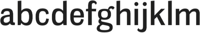 Meloche Regular otf (400) Font LOWERCASE
