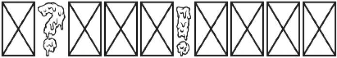 Melt Line Regular otf (400) Font OTHER CHARS