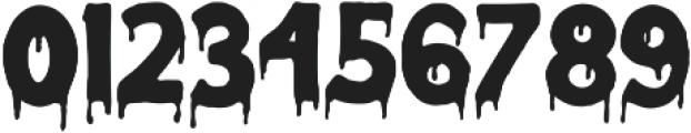 Melted Monster otf (400) Font OTHER CHARS