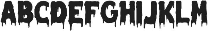 Melted Monster otf (400) Font UPPERCASE
