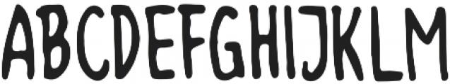 Memorable otf (400) Font UPPERCASE