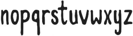 Memorable otf (400) Font LOWERCASE