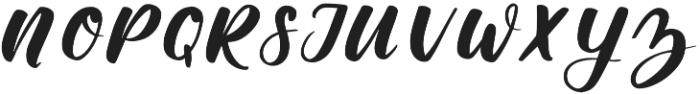 Memphis Park otf (400) Font UPPERCASE