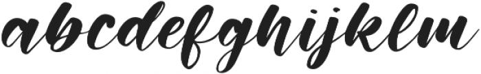 Memphis Park otf (400) Font LOWERCASE
