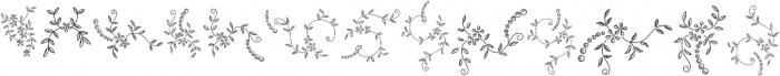 Menina Poderosa Ornaments Regular otf (400) Font UPPERCASE