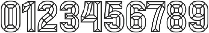 Mensrea Bevel otf (400) Font OTHER CHARS