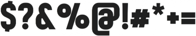 Mensrea Bold otf (700) Font OTHER CHARS