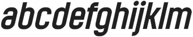 Mensrea Regular Italic otf (400) Font LOWERCASE