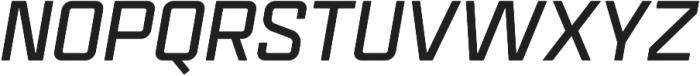Mensura Bold Italic Regular otf (700) Font UPPERCASE