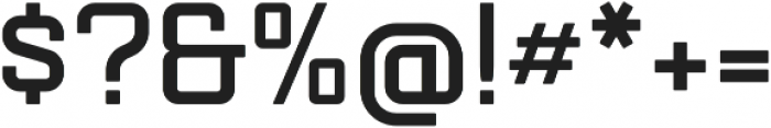 Mensura Bold Regular otf (700) Font OTHER CHARS