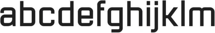 Mensura Bold Regular otf (700) Font LOWERCASE