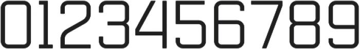 Mensura Regular Regular otf (400) Font OTHER CHARS