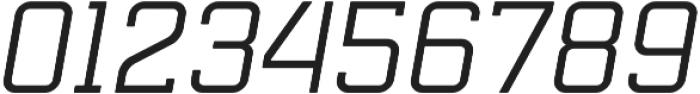 Mensura Slab Italic Regular otf (400) Font OTHER CHARS