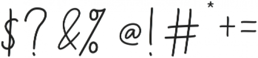 Menulist Beauty ttf (400) Font OTHER CHARS