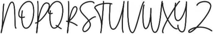 Menulist Beauty ttf (400) Font UPPERCASE