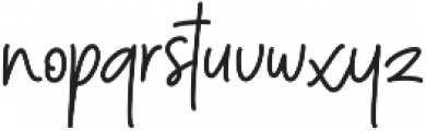 Menulist Beauty ttf (400) Font LOWERCASE