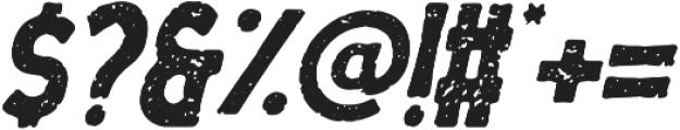 Menzanine Italic otf (400) Font OTHER CHARS