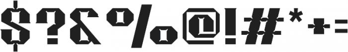 Merak Black Regular otf (900) Font OTHER CHARS