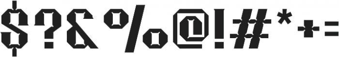 Merak Bold Regular otf (700) Font OTHER CHARS