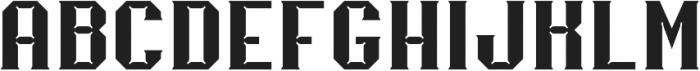 Merak Bold Regular otf (700) Font UPPERCASE