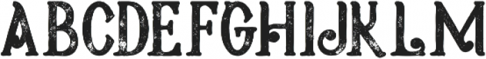 Meravin Bold Grunge otf (700) Font LOWERCASE