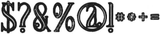 Meravin Bold Inline Grunge otf (700) Font OTHER CHARS