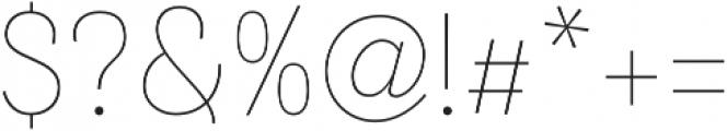 Merced Light otf (300) Font OTHER CHARS
