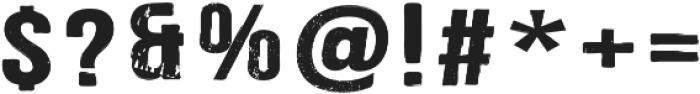 Merchant Regular otf (400) Font OTHER CHARS