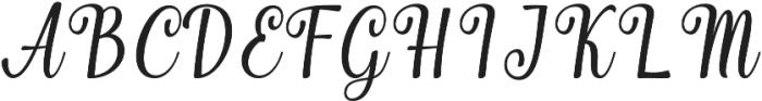 Merchant otf (400) Font UPPERCASE