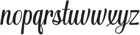 Merchant otf (400) Font LOWERCASE