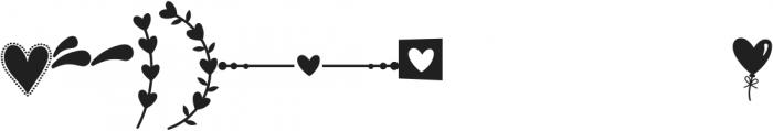 Merciful Heart Doodle ttf (400) Font UPPERCASE