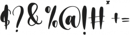 Merciful Heart otf (400) Font OTHER CHARS