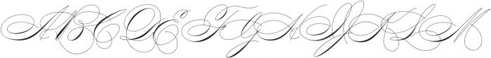 Mercy One otf (400) Font UPPERCASE