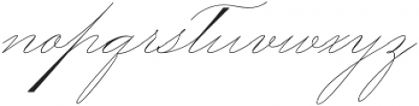 Mercy One otf (400) Font LOWERCASE