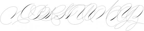 Mercy Two Thin otf (100) Font UPPERCASE