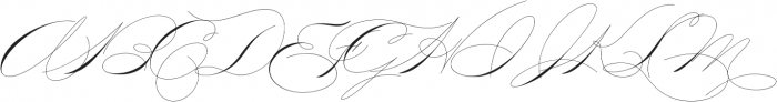 Mercy Two otf (400) Font UPPERCASE