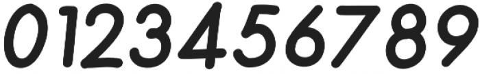 Merendina Bold Slanted otf (700) Font OTHER CHARS