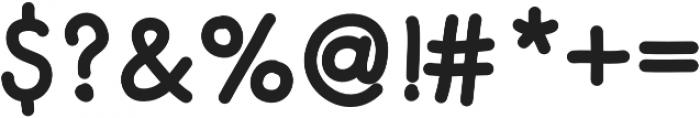 Merendina Bold otf (700) Font OTHER CHARS