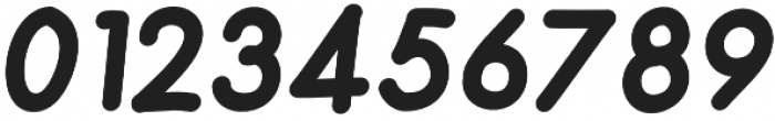 Merendina Heavy Slanted otf (800) Font OTHER CHARS
