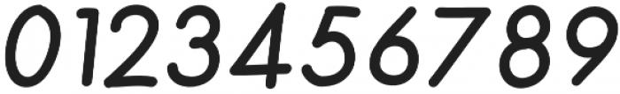 Merendina Medium Slanted otf (500) Font OTHER CHARS
