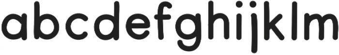 Merendina Medium otf (500) Font LOWERCASE